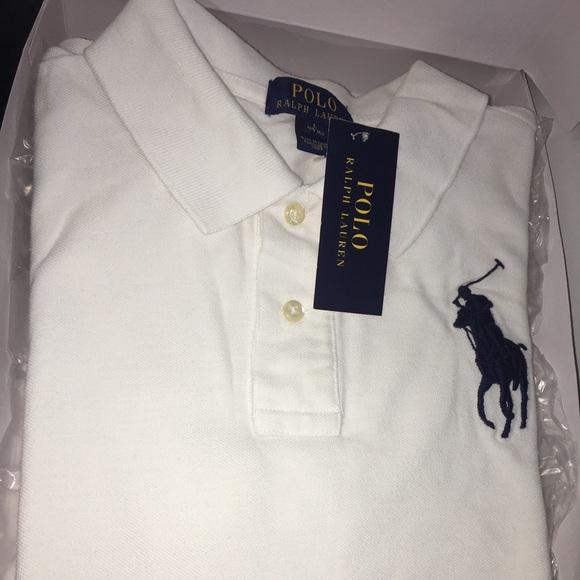 Classic Yr White 1416 Polo Lauren Ralph CoxedB